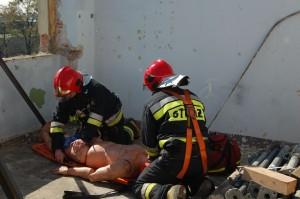 Symulacja ewakuacji - Straż Pożarna, Świadnik-1