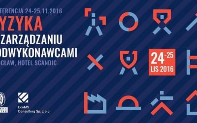 Ryzyka w zarządzaniu podwykonawcami. Konferencja 24-25.11.2016