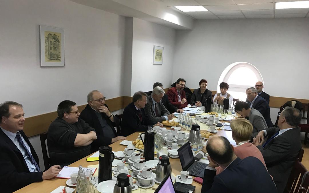 Spotkanie Zarządu Głównego Ogólnopolskiego Stowarzyszenia Pracowników Służby BHP z przedstawicielami polskich stowarzyszeń BHP