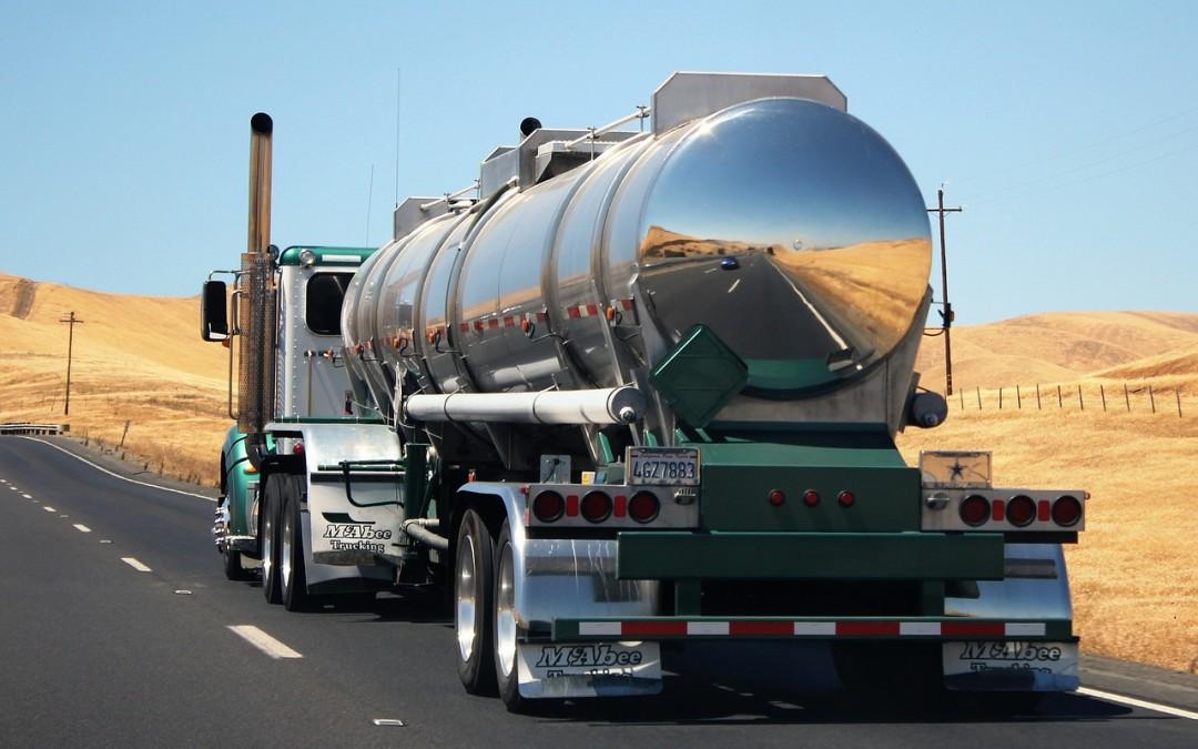 Ocena ryzyka zawodowego dla kierowcy przewożącego towary niebezpieczne