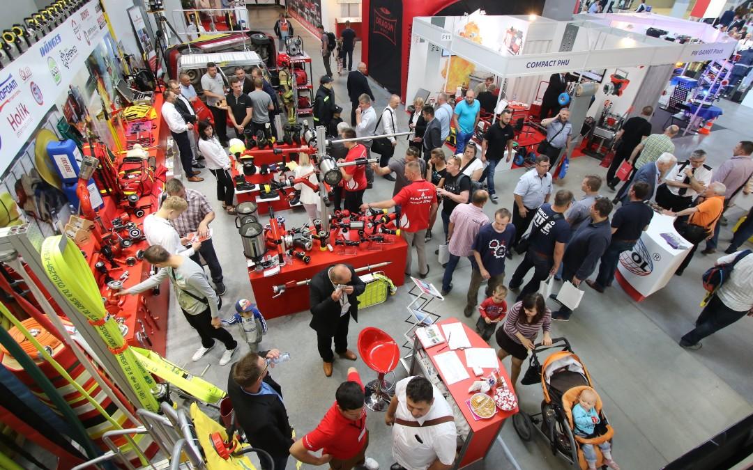 Wiodące firmy branży pożarniczej na targach KIELCE IFRE-EXPO w Targach Kielce