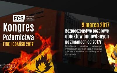 Scenariusze pożarowe i problemy w ich sporządzaniu podczas Kongresu FIRE|GDAŃSK 2017