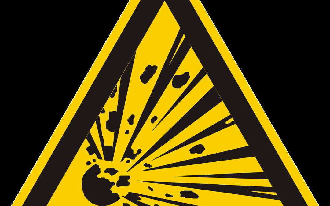BHP podczas magazynowania i transportu wewnątrzzakładowego materiałów wybuchowych