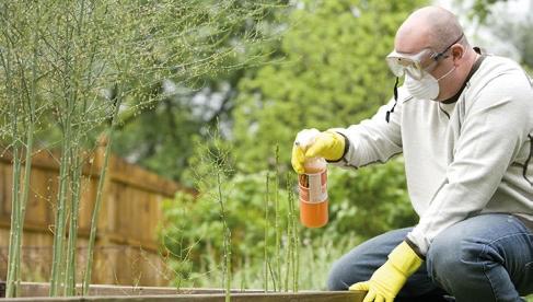 BHP w ogrodnictwie – praca z chemikaliami