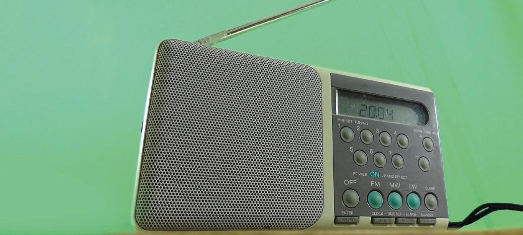 Korzystanie z radioodbiornika w miejscu pracy