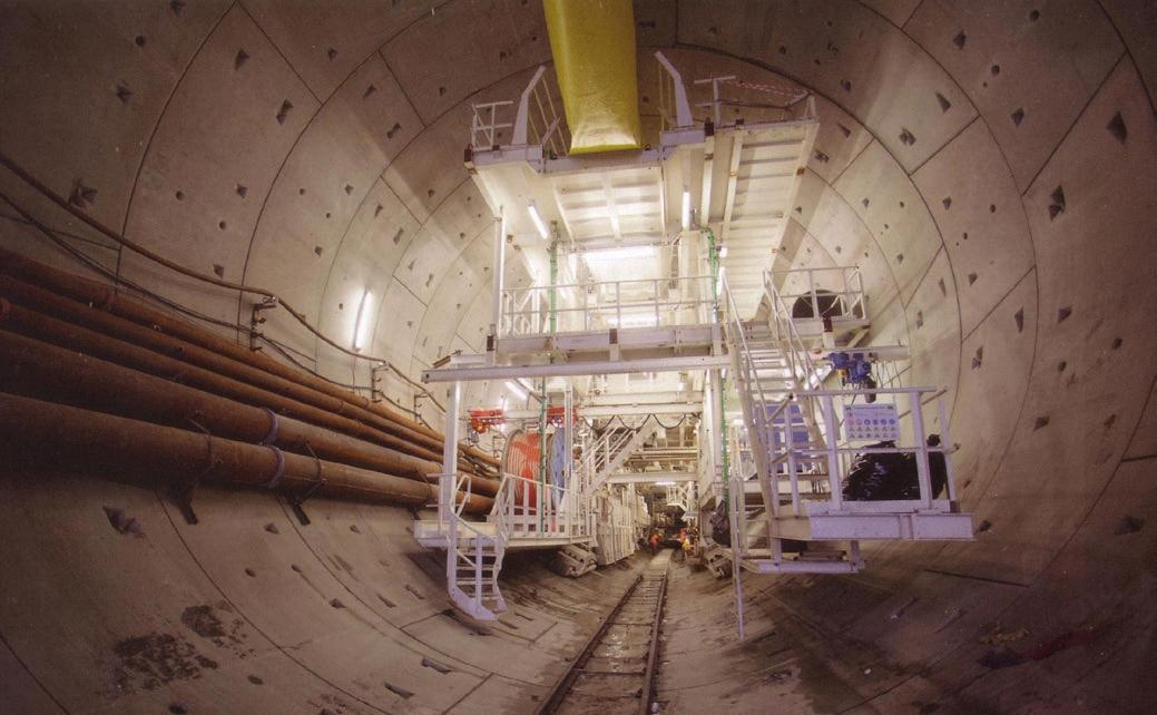 Bezpieczna realizacja podwodnego tunelu drążonego – TBM
