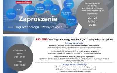 INDUSTRYmeeting – spotkanie branży przemysłowej w Sosnowcu!