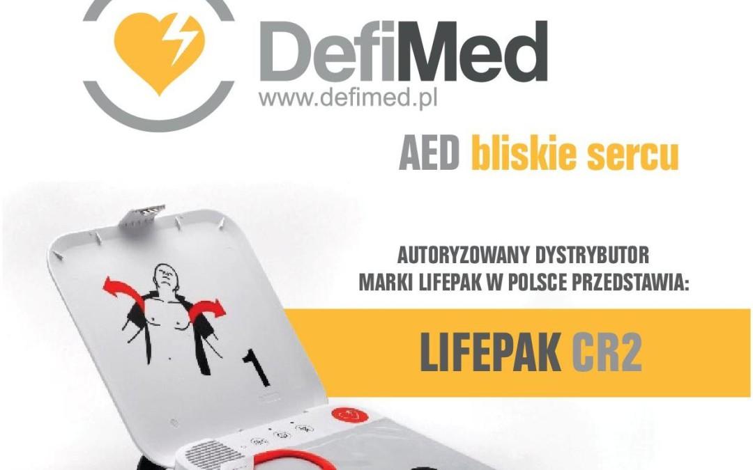 Zarządzanie siecią defibrylatorów AED