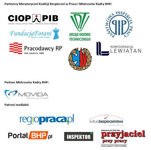 Partnerzy logosy