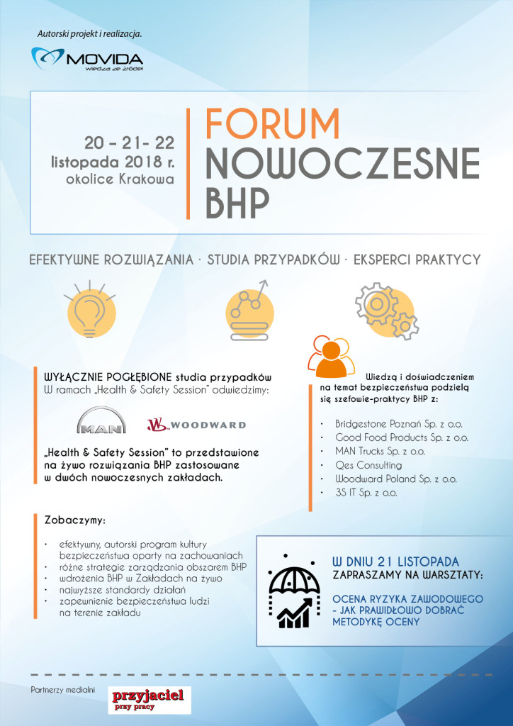 ikonka-Forum Nowoczesne BHP jesien 2018